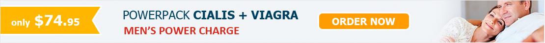 Cialis + Viagra Powerpack