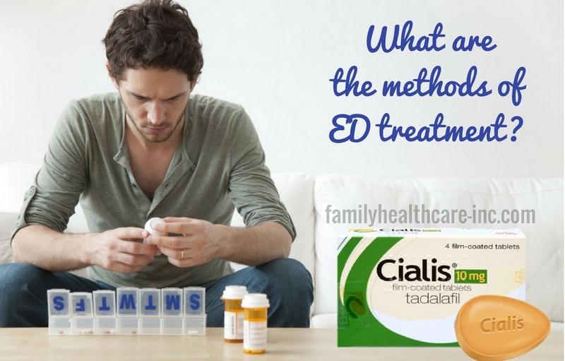 methods of ED treatment